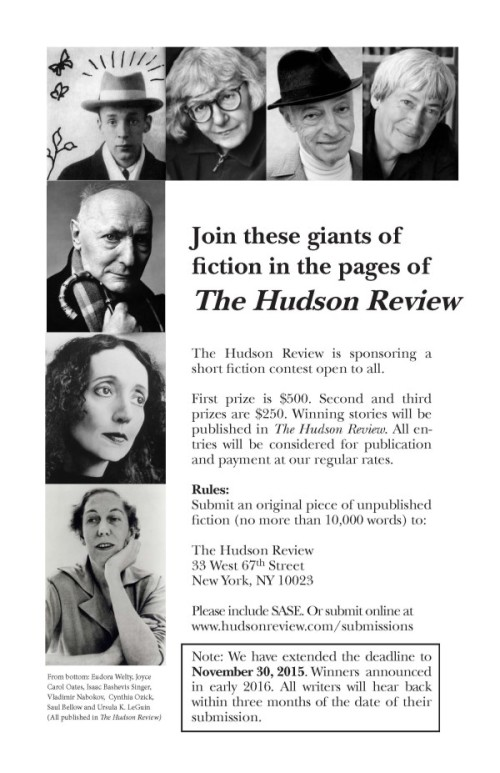 Ad for Fiction Contest UPDATED